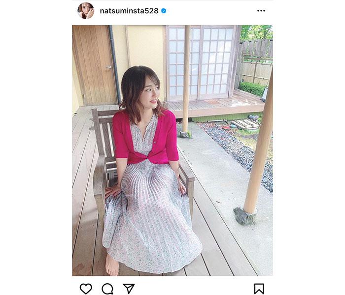 平嶋夏海の透け感ワンピースにドキドキ