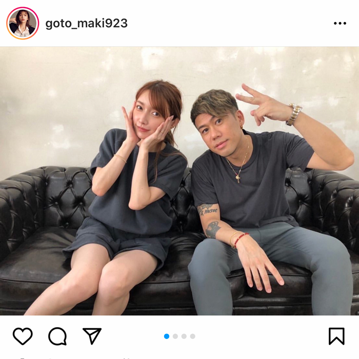 後藤真希、CHEMISTRY・川畑要とコラボでの歌ってみた動画を発表!「豪華すぎるコラボ」