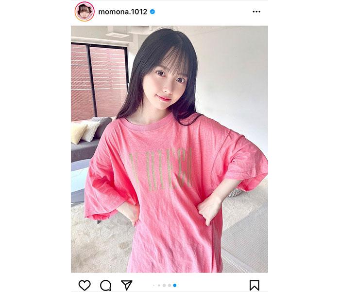 ラストアイドル 松本ももな、寝起き風のTシャツグラビアにキュン!!