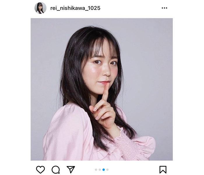 AKB48 西川怜、初選抜の『根も葉もRumor』ジャケットの艶やかアザーカット公開