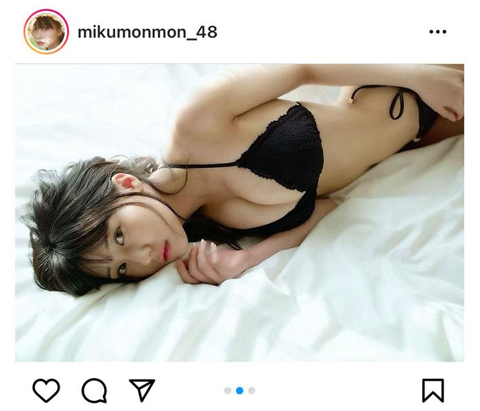 HKT48 田中美久が明かす美麗水着ショットの本音は?