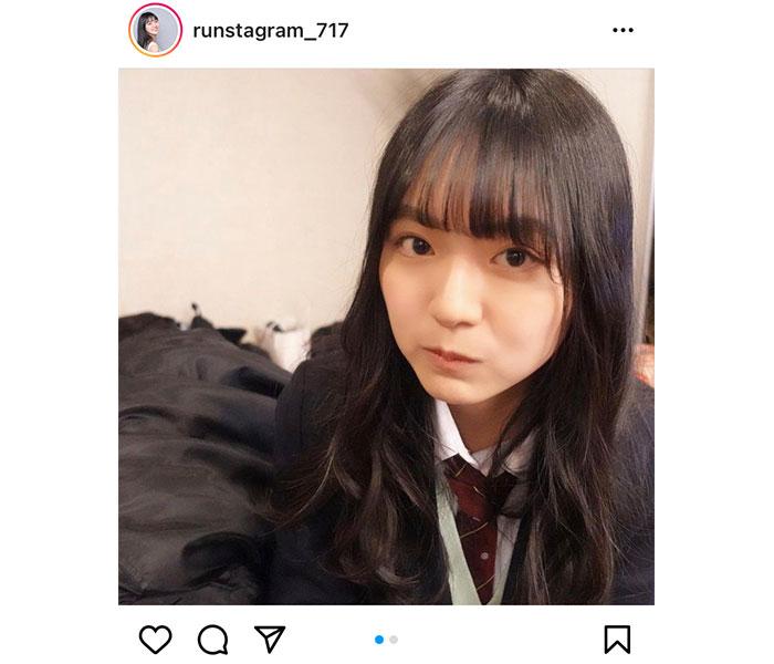 豊田ルナの無邪気な制服ショットに反響ぞくぞく「高校生の頃に戻りたい」