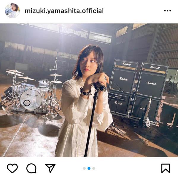 乃木坂46 山下美月、久保史緒里とのツインボーカルが話題の『泥だらけ』MVオフショット公開