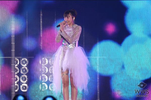 三阪咲がオープニングアクトで「今日好き」テーマ曲『私を好きになってくれませんか』熱唱!<関コレ2021 A/W>