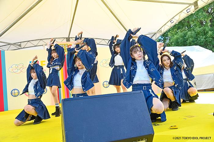 ラストアイドル1期生・阿部菜々実、西村歩乃果らSMILE GARDENでライブパフォーマンス!<TOKYO IDOL FESTIVAL 2021>