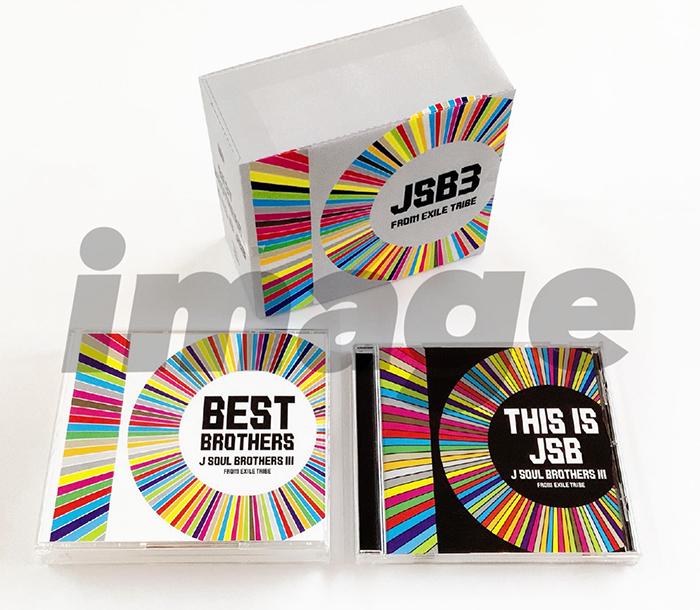 三代目JSB、ベストアルバム&オリジナルアルバムのジャケットが解禁