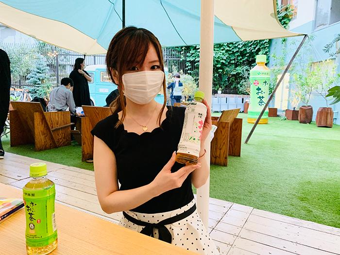 10月1日は日本茶の日!お〜いお茶ハウスがJINNAN HOUSEに期間限定開設