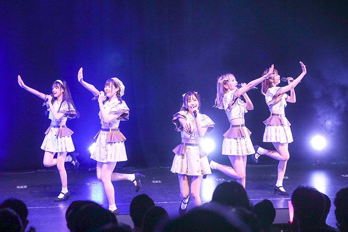 Ange☆Reve、新体制お披露目単独LIVEを開催
