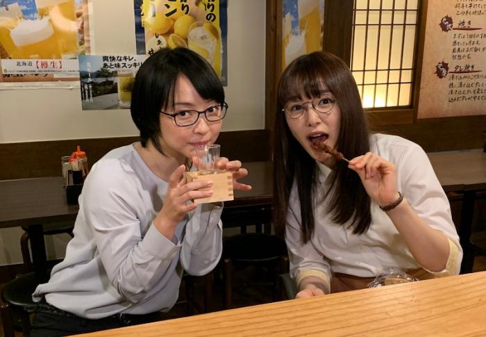【ごほうびごはん】桜井日奈子&未来の焼き鳥オフショットに歓喜の声