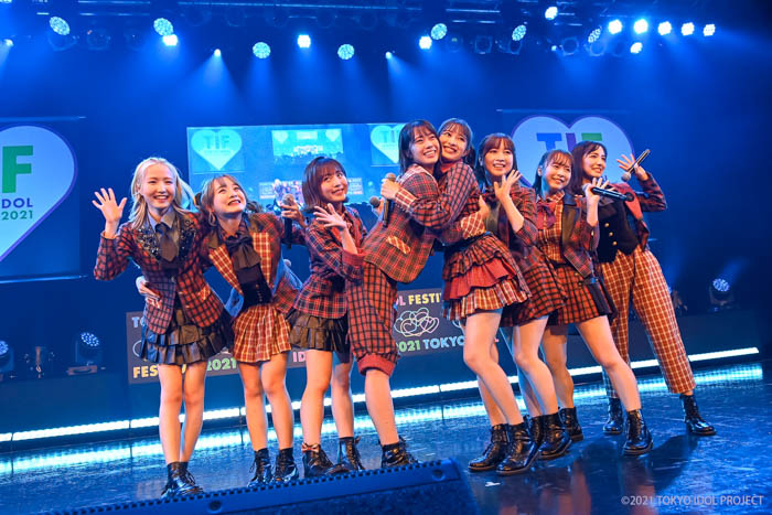 AKB48 チーム8、新曲『西高東低』を含むセットリストで「TIF2021」に出演