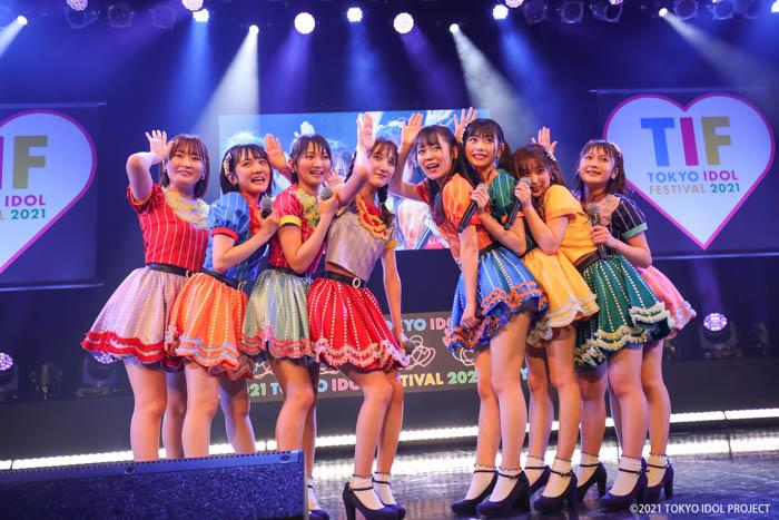 AKB48 田口愛佳、千葉恵里ら若手メンバーが「TIF2021」で爽やかなパフォーマンスを魅せる
