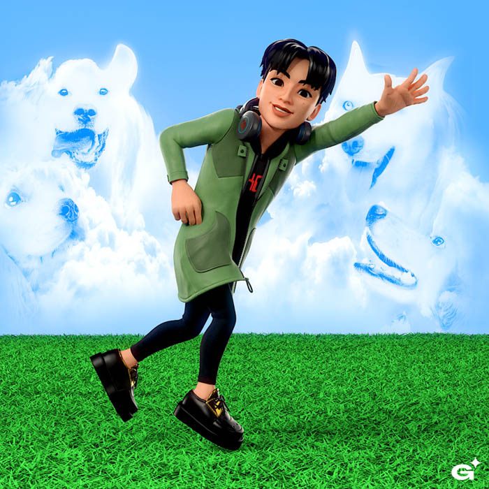 白濱亜嵐、アジアアーティストとして初「Genies」公式アバターに抜擢